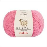 Пряжа Galla, цвет розовый