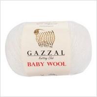 Пряжа Baby Wool, цвет белый