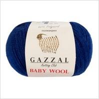 Пряжа Baby Wool, цвет темно-синий