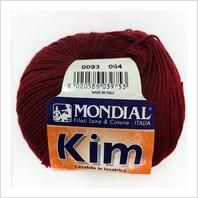 Пряжа Kim, цвет бордовый