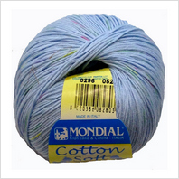 Пряжа Cotton Soft Color, цвет голубой