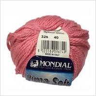 Пряжа Pima Soft, цвет ярко-розовый