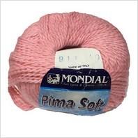 Пряжа Pima Soft, цвет розовый