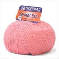Пряжа Merinos Extra (розовая)