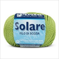 Пряжа Solare (оливковая)