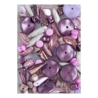 Мікс намистин Violet 0060