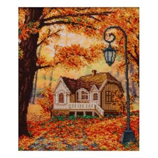 Барвиста осінь - Т-1348 - ВДВ - Схема для вишивки бісером - Пейзажі