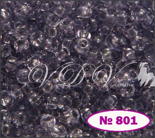 Бісер 10/0 801/01221 (кристалічний)