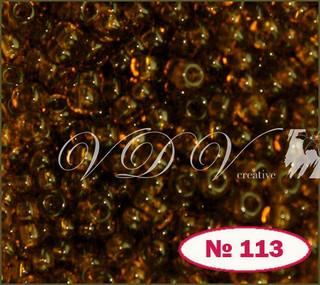 Бісер 10/0 113/10110 (прозорий)
