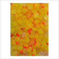 Мікс пресованих намистин (жовтий, помаранчевий)