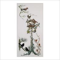 Набір для вишивання ''Годівниця для пташок