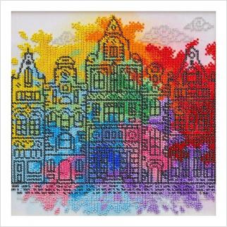 Фарби старого міста - Т-1352 - ВДВ - Схема для вишивки бісером - Пейзажі