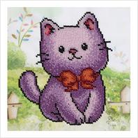 """Схема для вишивки бісером """"Котик"""""""