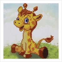 """Схема для вишивки бісером """"Жирафчик"""""""