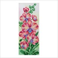 """Схема для вишивки бісером """"Рожеві орхідеї"""""""