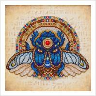 """Схема для вишивки бісером """"Жук скарабей - символ успіху та амулет від злих сил"""""""