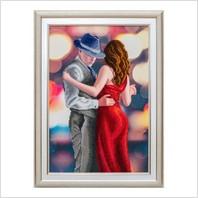 """Вышитая бисером картина """"Страстный танец"""""""