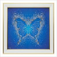 """Вышитая бисером картина """"Бабочка"""""""