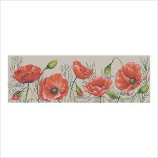 Маків цвіт - М-0247 - ВДВ - Набір для вишивки муліне - Квіти
