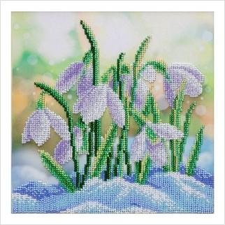Проліски - ТН-1329 - ВДВ - Набір для вишивки бісером - Квіти