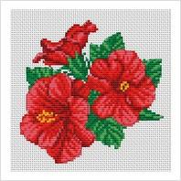 """Набор для вышивания ''Китайские розы"""""""