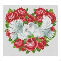 """Набор для вышивания ''Вечная любовь"""""""