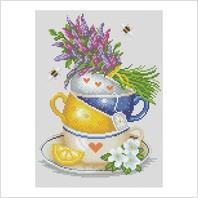 """Набор для вышивания ''Травяной чай"""""""