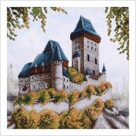 """Набір для вишивання """"Смарагдовий замок"""""""