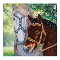 """Набір для вишивання """"Пара коней"""""""