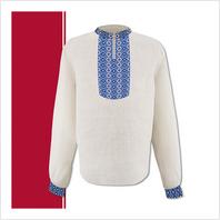 Набір текстилю чоловічої сорочки-вишиванки (розмір 44-56)