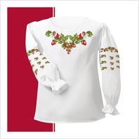 Набір текстилю сорочки-вишиванки для дівчинки (розмір 30-34)
