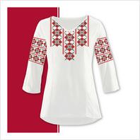 Набір текстилю жіночої сорочки-вишиванки (розмір 42-56)