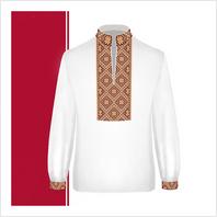 Набір текстилю сорочки-вишиванки для хлопчика (розмір 36-44)