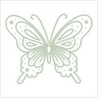 Водорастворимый флизелин с рисунком