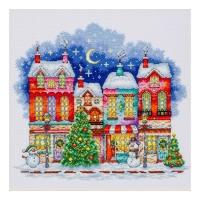 """Набір для вишивання ''Різдвяне місто"""""""