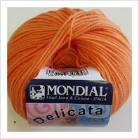 Пряжа Delicata Baby (оранжевая)