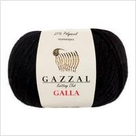 Пряжа Galla, цвет черный