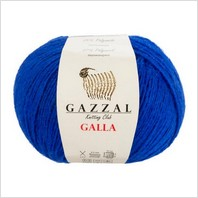 Пряжа Galla, цвет синий