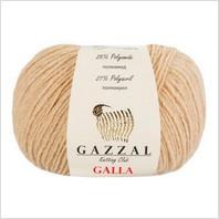 Пряжа Galla, цвет какао