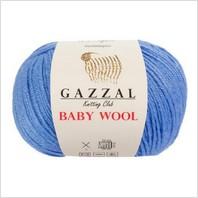 Пряжа Baby Wool, цвет светло синий