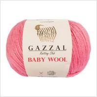 Пряжа Baby Wool, цвет розовый