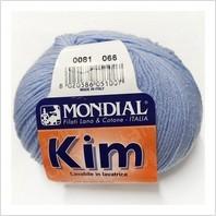 Пряжа Kim, цвет голубой