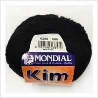 Пряжа Kim, цвет черный