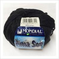 Пряжа Pima Soft, цвет черный