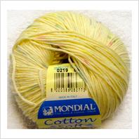 Пряжа Cotton Soft Color, цвет желтый