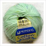 Пряжа Cotton Soft Color, цвет салатовый