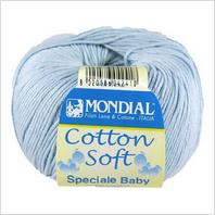 Пряжа Cotton Soft, цвет голубой