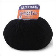 Пряжа Merinos Extra (черная)