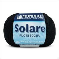 Пряжа Solare (черная)